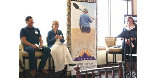 The lunch panel was part of a series of events held during August for Colorado Proud Month, which were hosted by the Colorado Department of Agriculture with support from other industry partners. (Courtesy of Colorado Corn)