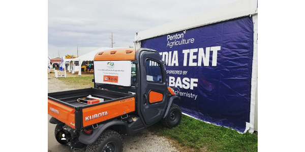 Thanks to Kubota, ASA President Ron Moore,Vice President John Heisdorffer and Chairman Richard Wilkins will all be mobile and traveling the show in a pair of 2018 Kubota RTV-x1120D Diesel Work Utility vehicles. (Courtesy of ASA)