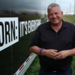 Northey is a fourth-generation Iowa farmer that grows corn and soybeans on his farm near Spirit Lake. (Courtesy of Iowa Corn Growers Association)