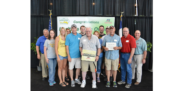 The Glenn Appler family of Appanoose County has owned their farm since 1867. (Courtesy Iowa Department of Agriculture)