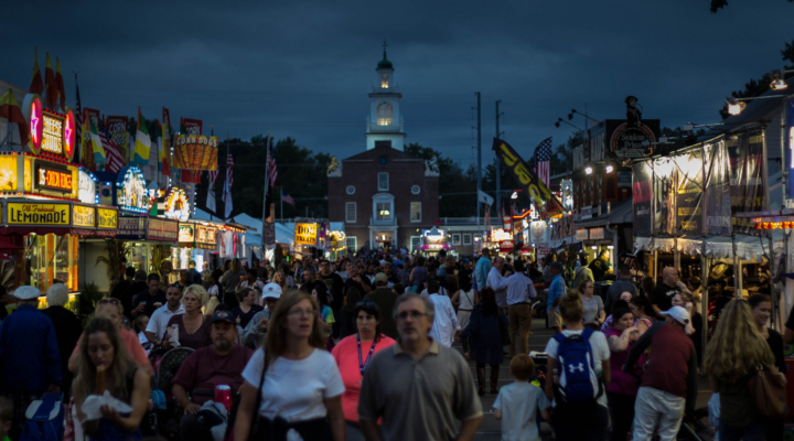State Officials celebrate Massachusetts Day at Big E