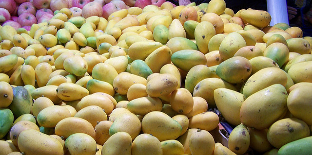 Car stop yields 400 lbs of stolen mangos