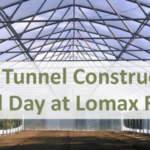 Here at Lomax we have purchased a high tunnel kit and will be constructing it during this field day. Come with a pair of gloves, we'll take care of the rest!
