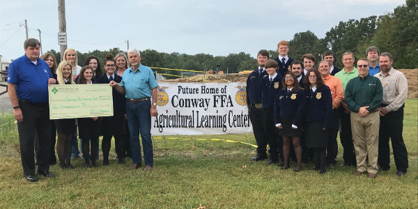 Conway Ag Learning Center receives grant