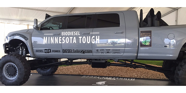 The DieselSellerz's iconic truck build, the Mega RamRunner, will be on display at this year's Big Iron Farm Show.
