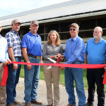 A ribbon cutting ceremony was held September 12, 2017 at Kibler Dairy Farm to celebrate the panel installation. (Courtesy of DFA)
