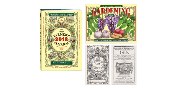 The 226th edition of the Old Farmer's Almanac comes out Tuesday, with predictions for 2018. (The Old Farmers Store)
