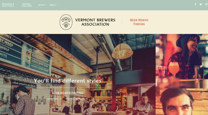 Vermont Brewers Assn launches new website