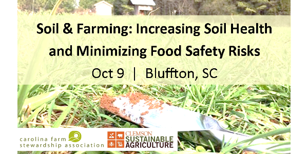 Soil and farming workshop Oct. 9