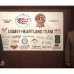 Patrick O'Leary (left) and Gene Stoel (right) visited Japan as part of a trip sponsored by the U.S. Meat Export Federation (USMEF). (Courtesy of Minnesota Soybean)