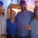 From left: Jason Topp, Brenda Gorseth, Seth Estenson and Karla Lura. (Courtesy of NDFB)