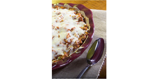 Spaghetti pie. (University of Nebraska Nutrition Education Program & Extension)