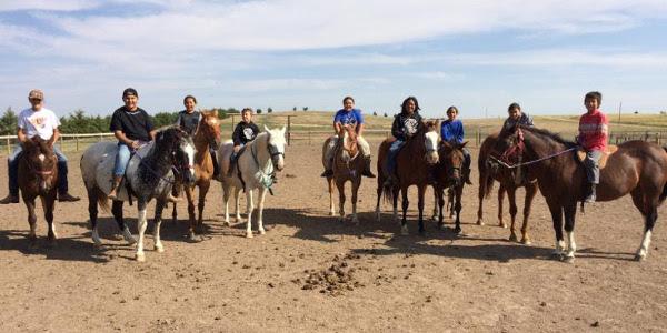 S.D. 4-H teams with Sinte Gleska U equine camps