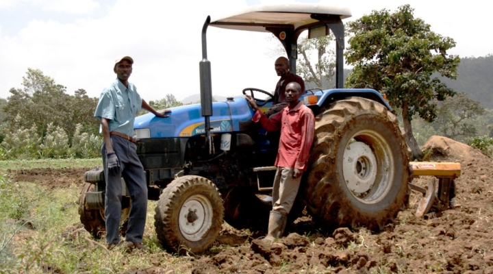 Support for Africa's young farmers