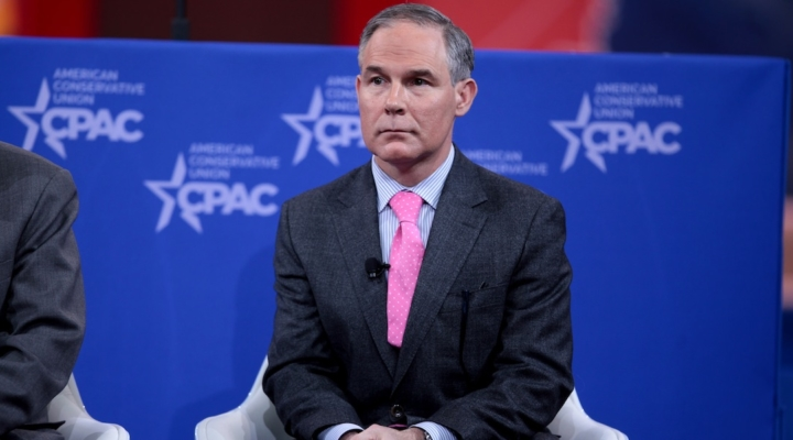 Pruitt accused of misusing taxpayer funds
