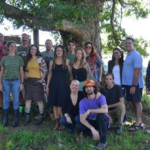 On September 20th, 20 students gathered at the Southern Appalachians Highlands Conservancy incubator farm to receive graduation certificates for our year long farmer training program Farm Beginnings®.(Courtesy of Organic Growers School)