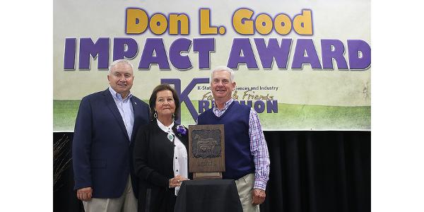Schwartz receives Don L. Good Impact Award