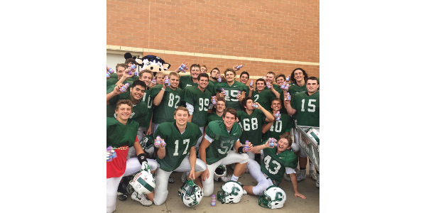 Coopersville High School football wins contest