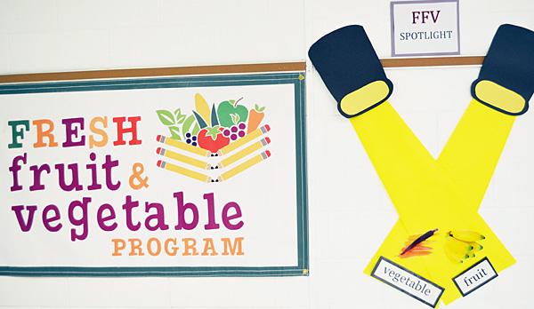 Schools offering Fresh Fruit and Vegetable Program