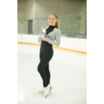 Figure skater and U.S. Olympic hopeful Hannah Miller, a Michigan native, recently joined the Milk Life team and Milk Means More campaign. She will serve as an athlete ambassador promoting the benefits of milk as part of a healthy diet on social media and through special appearances. (Courtesy of United Dairy Industry of Michigan)