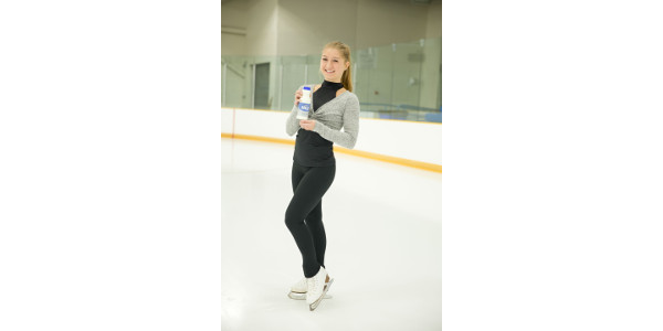 Olympic hopeful joins milk campaign