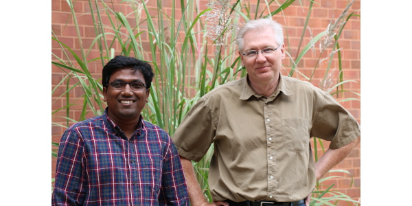 Md Abdul Momin (left) and Tony Grift. (Courtesy of University of Illinois)