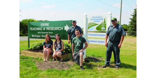 MSU Swine Farm supports MAEAP