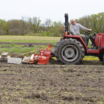 Jason and Scott will show guests various hand tools and small implements, including wheel hoes, stirrup hoes, a BCS tiller and more – and attendees will have an opportunity to try them all out. (Courtesy of Practical Farmers of Iowa)