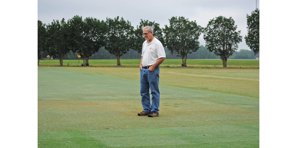 Bruce Martin, a Clemson research and Extension turfgrass pathologist for South Carolina, world renowned for his turfgrass research, is this year's recipient of the Fred V. Grau Turfgrass Science Award. (Image Credit: Clemson University)