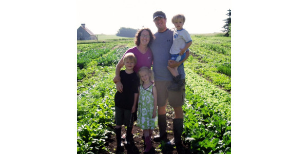 From the 2015 Class: The Jensen Family in Ida Grove, IA. (Courtesy of Practical Farmers of Iowa)