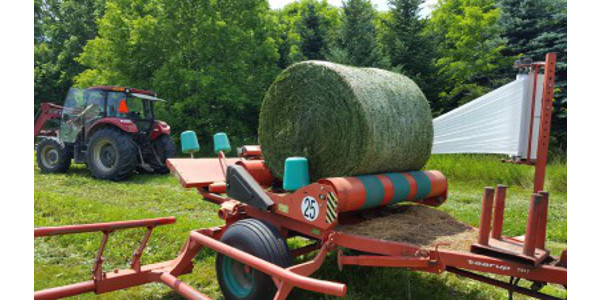 Baleage is different than other forage making