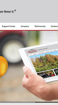 Wellscroft Fence Systems offers online shopping