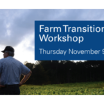 NC Cooperative Extension will host a transition planning workshop on November 9, 2017 from 9:00am - 2:00pm at Mountain Horticulture Crops and Research and Extension Center. Registration begins at 8:30 am.