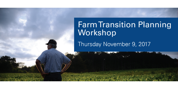 Farm transition planning workshop Nov. 9