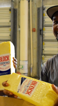Irma victims receive 30,000 lbs of cheese