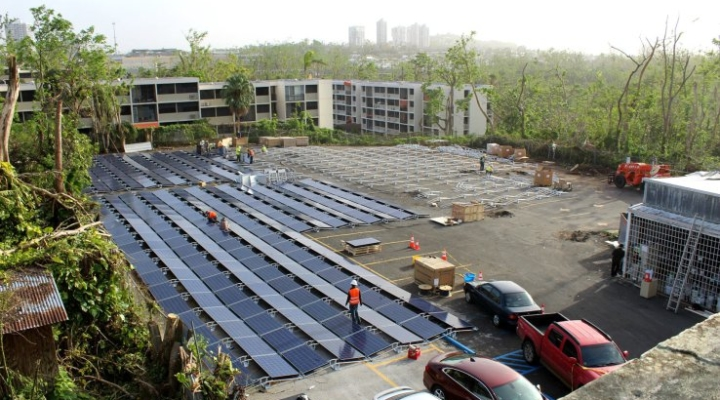 Tesla makes quick work of Puerto Rico solar power relief project