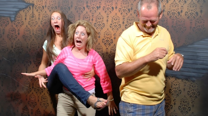 Secret cam captures 10+ moments people were scared to death