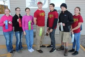 The Illinois 4-H State 4-H Rifle Shoot was held at the Central Illinois Precision Shooters near Bloomington.  Top finishers in the smallbore division included (left to right) Josette Peters of Iroquois County, first; Jaden Thompson of McLean County, second; Marygrace C. of Kendall County, sixth; Krzysztof Gajda of Winnebago County, seventh; Alex Enderson of Winnebago County, eighth; Marcin Gajda of Winnebago County, ninth; and Danielle Brosend of Winnebago County, tenth. Not pictured are Jasmine Dotson of McLean County, third; Gavyn Love of Woodford County, fourth; and Sarah Fandel of Woodford County, fifth.
