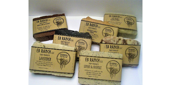 The EB Ranch Kickstarter will offer a fragrant variety of goat milk soap rewards and even the chance to name future kids born on the farm as well as picking a soap scent. (Courtesy of EB Ranch LLC)