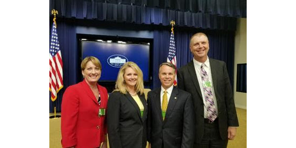 Director of Agriculture Chris Chinn traveled to Washington D.C. in August to participate in the White House rural infrastructure meeting. (Courtesy of Missouri Department of Agriculture)