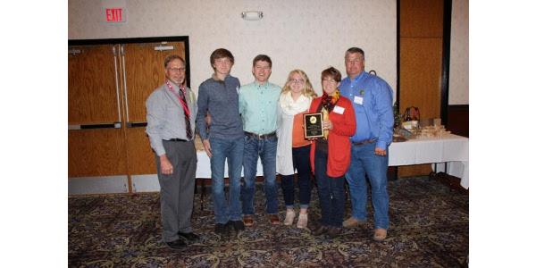 SD Master Lamb Producers Assoc. award winners