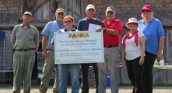 Lifetime conservationists honored