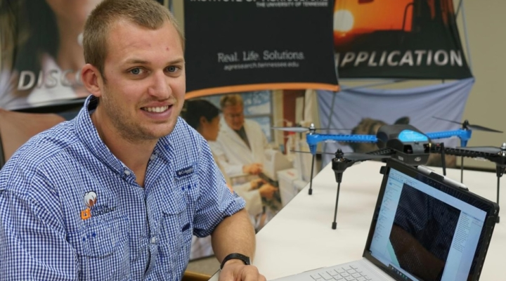 Drones could help crop management take off
