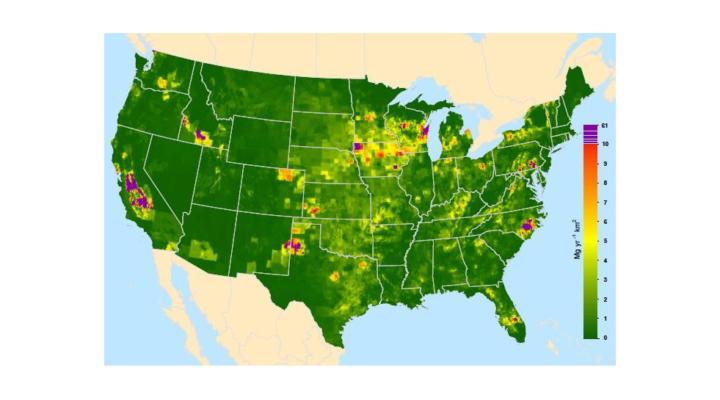 Uncertainty on U.S. livestock methane emissions
