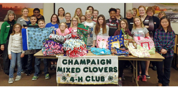 4-H youth help peers with cancer