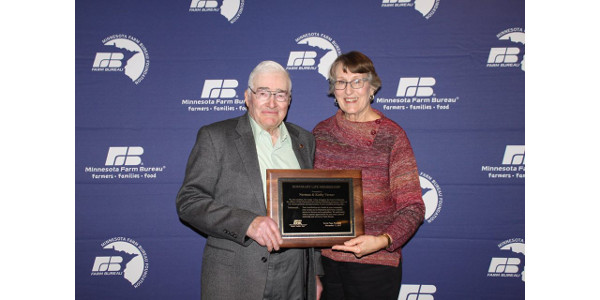 Honorary Life - Norman and Kathy Varner. (Courtesy of Minnesota Farm Bureau Federation via Facebook)