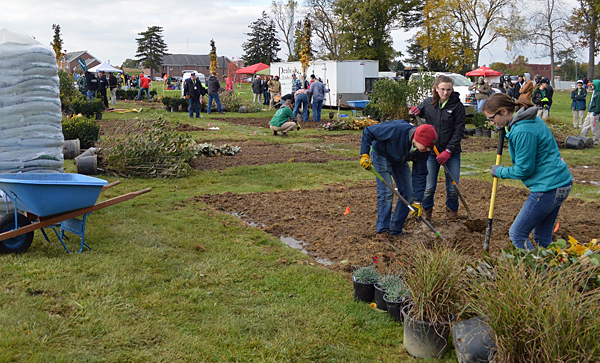 ONLA hosted 250 students to Landscape Olympics