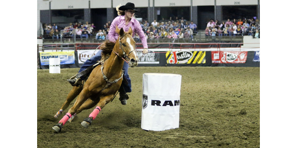 The North American Championship Rodeo returns to Freedom Hall at the Kentucky Exposition Center Nov. 9-11 for the Great Lakes Circuit Rodeo finals. (Courtesy of Kentucky Venues)