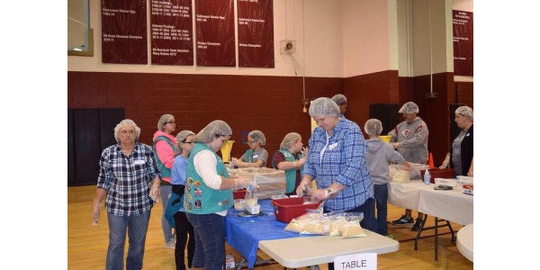 Living to serve - packing for a purpose