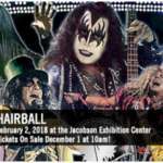 Hairball returns on Friday, February 2, 2018 at the Jacobson Exhibition Center on the Iowa State Fairgrounds. (iowastatefairgrounds.org)